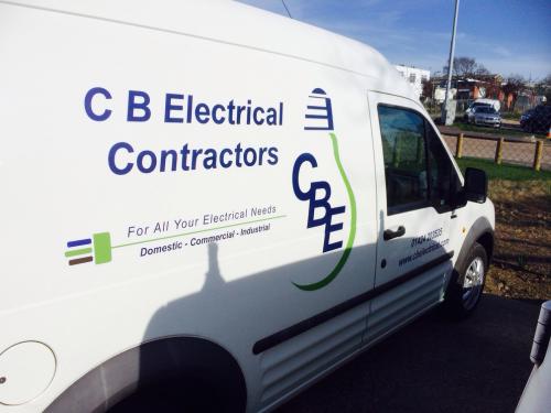 C B Electrical Van