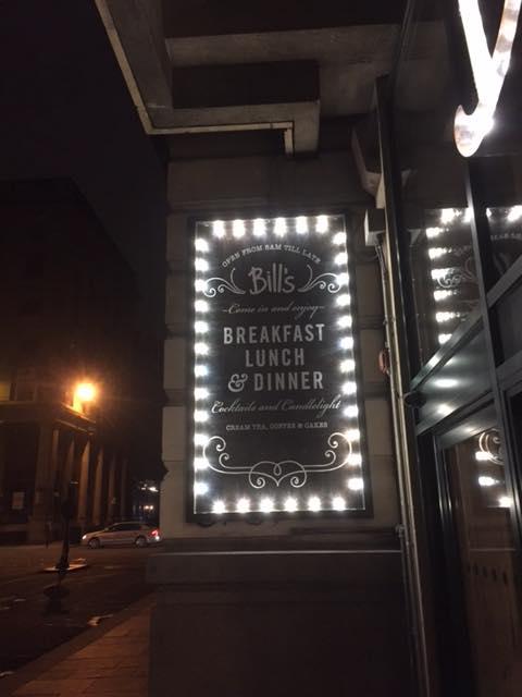 Bill's restaurant Glasgow 1