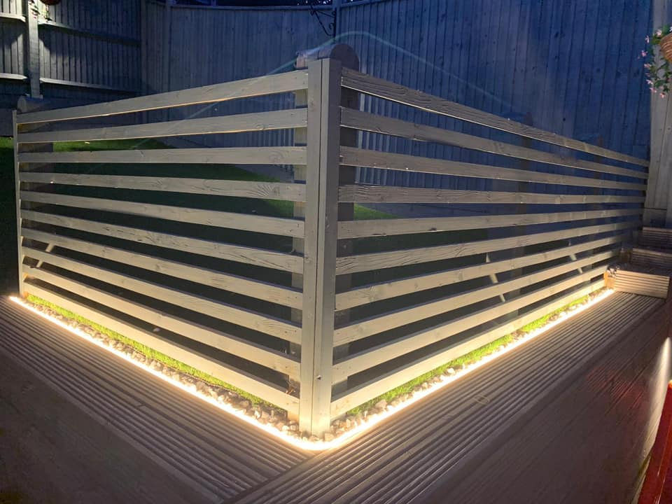 Bespoke Outdoor Back Garden Lighting Contractors in Hastings East Sussex and Kent