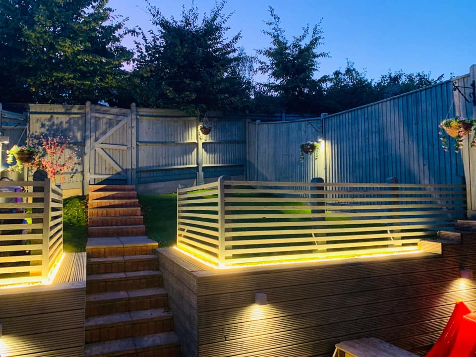 Outdoor Garden Lighting Contractors Hastings East Sussex and Kent